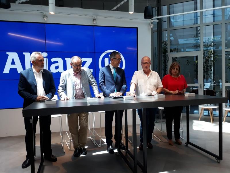 Los sindicatos logran mejoras en el nuevo convenio de Allianz Seguros