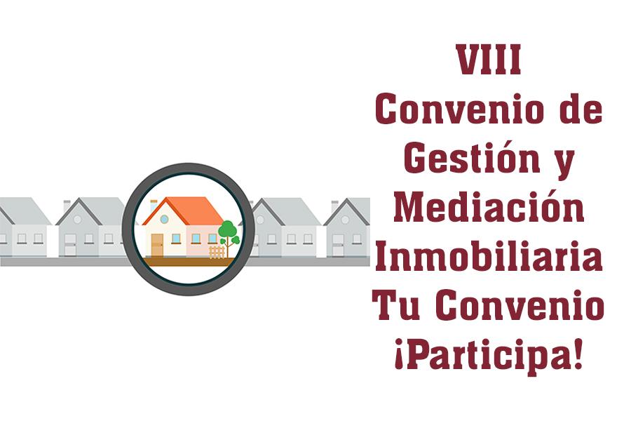 UGT y CCOO firman el nuevo convenio de gestión y mediación inmobiliaria 2019-21